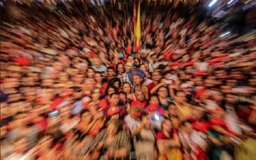 ESPERANÇA: 'CONTRA A DITADURA, TORTURA E PRISÕES, AS FORÇAS DEMOCRÁTICAS ESTÃO NA ARENA'