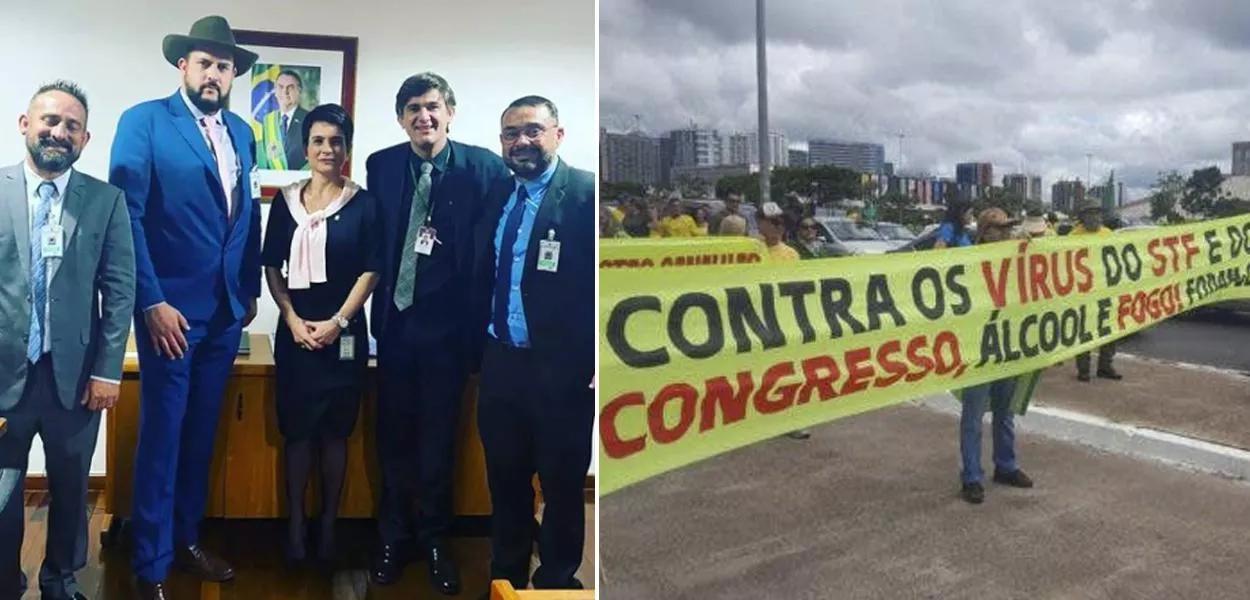 Planalto fez reuniões oficiais com organizadores do 7 de Setembro investigados por atentar contra democracia